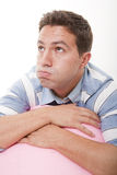 Bored man Stock Photography