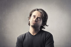 Bored man Royalty Free Stock Photo