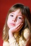 Bored meisje Stock Foto's