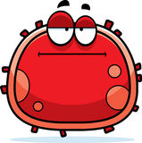 Bored Red Blood Cell Royalty Free Stock Images
