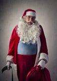 Bored Santa Claus royalty free stock images