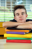 Bored at school Royalty Free Stock Photo