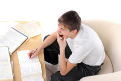 Bored student Royalty Free Stock Photos