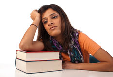 Bored student Royalty Free Stock Photo