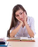 Bored student Stock Photos