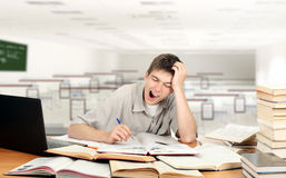 Bored Student Stock Photography