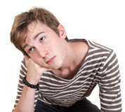 Bored Teen Stock Photo