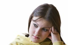 Bored teenager Royalty Free Stock Photos