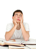 Bored and Tired Student Stock Images