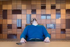 Bored to death Royalty Free Stock Photos