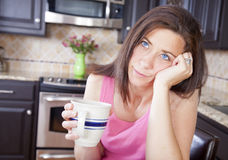 Bored Woman Royalty Free Stock Image