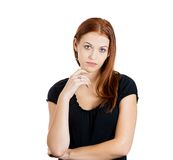 Bored woman Royalty Free Stock Photography