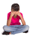 Bored Young Girl II Royalty Free Stock Photography