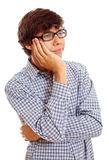 Bored young man Royalty Free Stock Photography