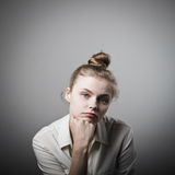 Boredom Royalty Free Stock Images