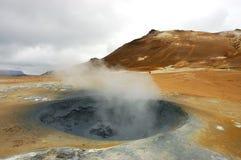 borehole Исландия вулканическая стоковые фотографии rf