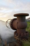 borehole старый стоковая фотография