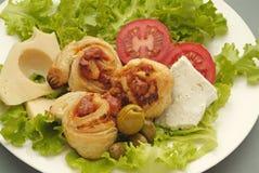 Borek с сыром Стоковое Изображение