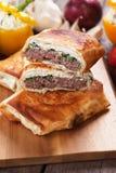Borek burger Royalty Free Stock Photography