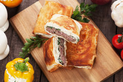 Borek burger Royalty Free Stock Photos