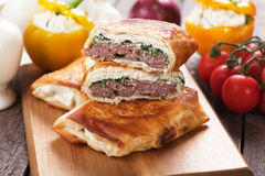 Borek burger Royalty Free Stock Image