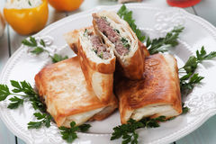 Borek burger Stock Images