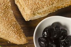 Borek a Turkish pastry Stock Photography