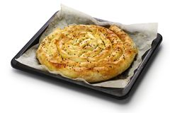 Borek, turkish savoury pie Stock Image
