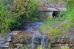Borer's Falls in Hamilton. Royalty Free Stock Photos