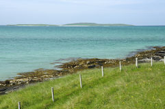 Boreray海岛 库存图片