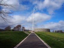 Borestone, μάχη Bannockburn Στοκ Φωτογραφίες