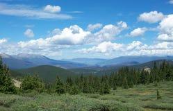 Boreus Pass Camping Colorado Landscape. Boreus Pass Camping Mountain Landscape Colorado stock photos