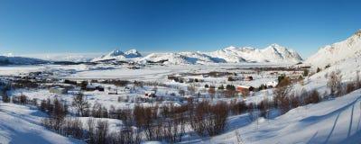 Borg, Lofoten, Norvège photo stock