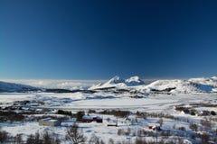 Borg, Lofoten, Norvège images stock