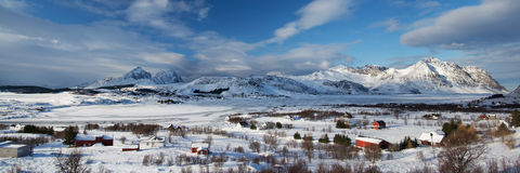 Borg, Lofoten, Norvège photos stock