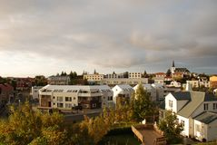 Borgarnes, Исландия Стоковые Фото