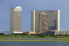 Borgata Casino & Hotel with the Water Club Stock Photos