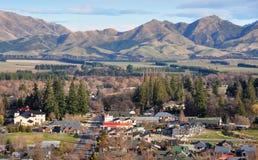 Borgata di Hanmer, Nuova Zelanda Fotografia Stock Libera da Diritti