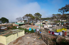 Borgata rurale Città del Capo Fotografie Stock Libere da Diritti