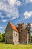 Borgeby Slott Under Renovation Stock Photography