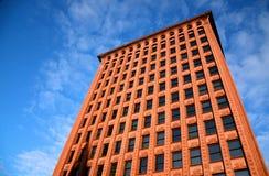 Borgenbyggnad, buffel, New York arkivbild
