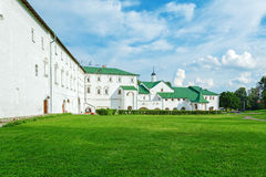 Borgerlig arkitektur av 17th Århundrade inom den Suzdal Kreml Fotografering för Bildbyråer