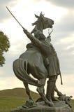 borgerlig monumentvicksburg kriger Arkivbild
