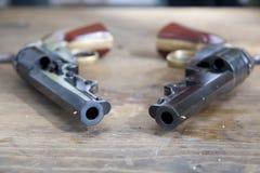 borgerliga pistoler kriger Fotografering för Bildbyråer