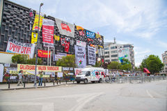 Borgerliga protester i Turkiet Royaltyfria Foton
