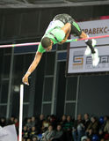 Borges Lázaro - Cuban pole vaulter Stock Image