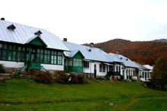 Borggård av den Suzana kloster Fotografering för Bildbyråer