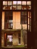 Borggård i Lviv Royaltyfri Fotografi