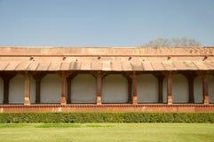 Borggård på Fatehpur Sikri Royaltyfria Foton
