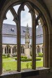Borggård på St Viktordom Arkivbild